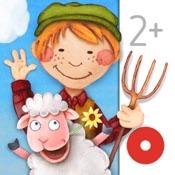 Mein Bauernhof: Tiere & Traktoren Kinder Wimmelapp