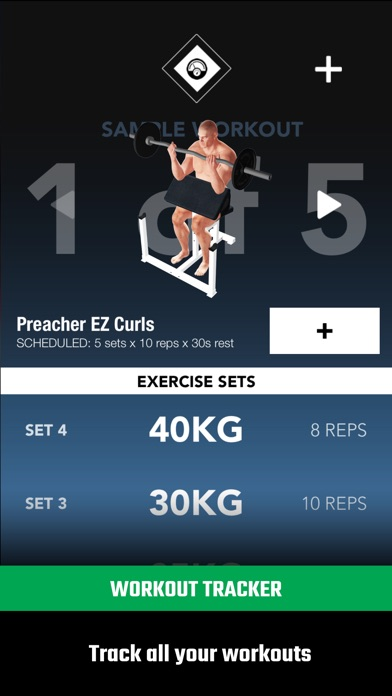 GymStreak Pro - Bodybuilding Tracker Screenshots