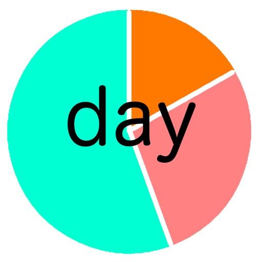 円スケジュール-1日を素早く计画