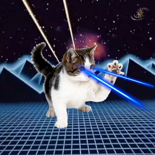 Laser Cats! iOS App