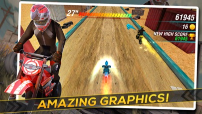 Screenshot #5 for Motocross Trial Racing 3D