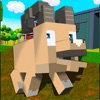 Blocky Sheep Farm 3D