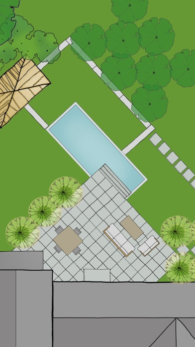 Home outside landscape design for everyone on the app store for Best home landscape design app