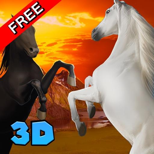 Wild Horse Survival Simulator 3D iOS App