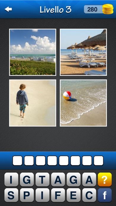 Screenshot of Trova la parola! ~ Quiz con 4 immagini e 1 parola4