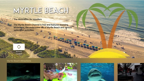 Screenshot #1 for Myrtle Beach Channel