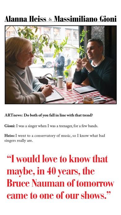 Artnews Magazine review screenshots