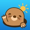Cute Mole Stickers