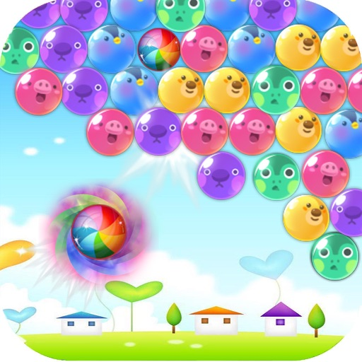 free puzzle bubble shooter