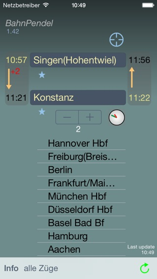 BahnPendel Screenshots