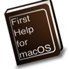 First Help for macOS operating system software