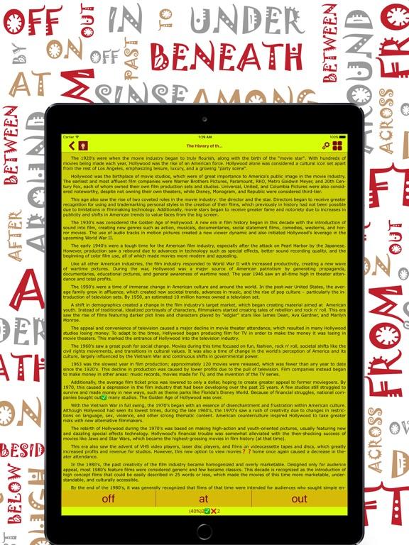English Prepositions: Ultra Screenshots