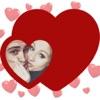 I Love You Photo Frames - Heart Effect Card Editor
