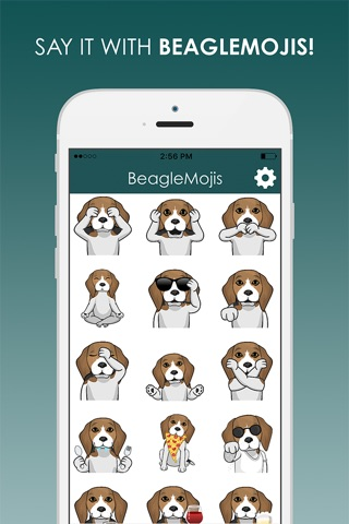 BeagleMojis - Beagle Emojis & Stickers screenshot 1