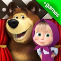 Masha and the Bear: videos, games, songs for kids icon