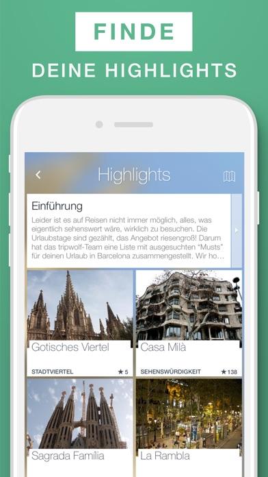 Barcelona Reiseführer & Offline-Karte Screenshot