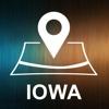 Iowa, USA, Offline Auto GPS usa dash