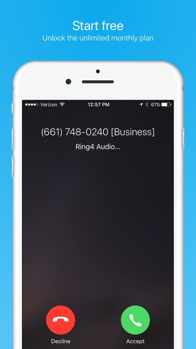 how to make iphone call on a phone number