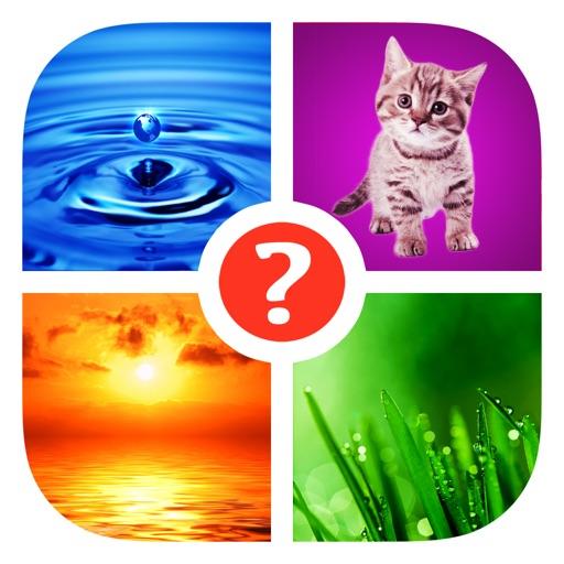 Trova la parola! ~ Quiz con 4 immagini e 1 parola
