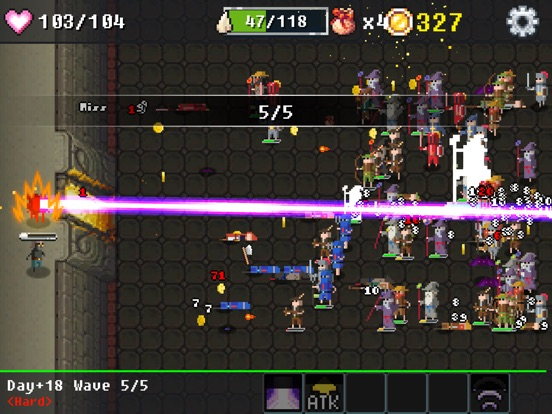 Screenshot #5 for Dungeon Defense : The Invasion of Heroes