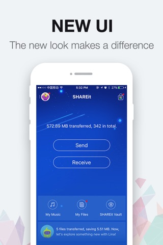 SHAREit - Connect & Transfer screenshot 1