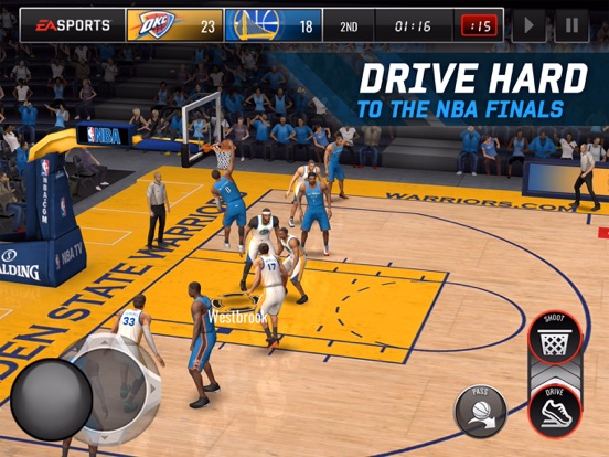 Screenshot #5 for NBA LIVE Mobile Basketball