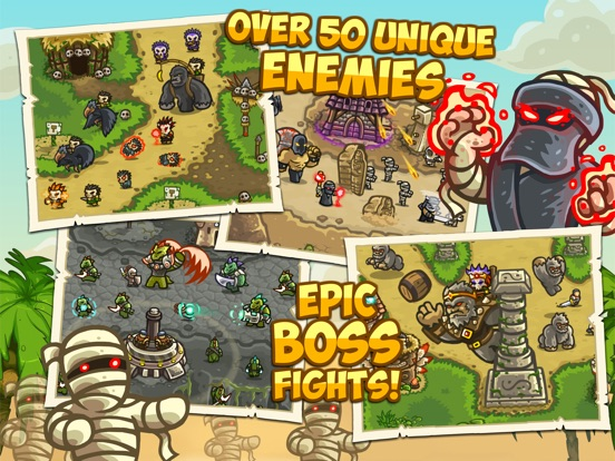Kingdom Rush Frontiers HD Screenshots