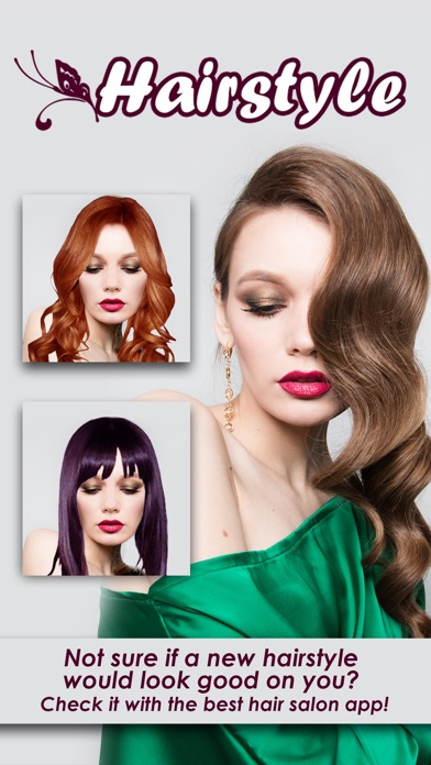 Try On Hairstyles Salon Best Hair Color Ideas On The App Store - Hairstyle on you app