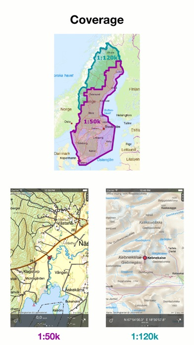 Topo GPS Sweden On The App Store - Sweden map gps