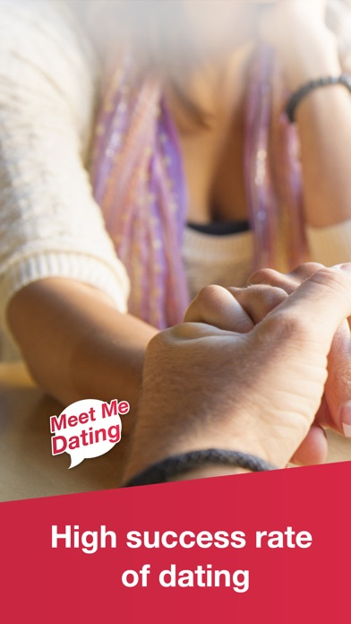 Screenshots of Meet Me Dating: Chat & Hook Up with Singles Online for iPhone
