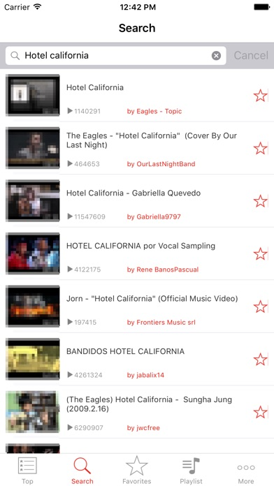 Screenshots of Free Music - Unlimited Songs Player For YouTube for iPhone