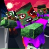 Blocky Zombie Simulator game free for iPhone/iPad