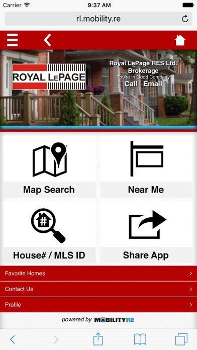 Real estate by royal lepage find canada homes app for Buy house app