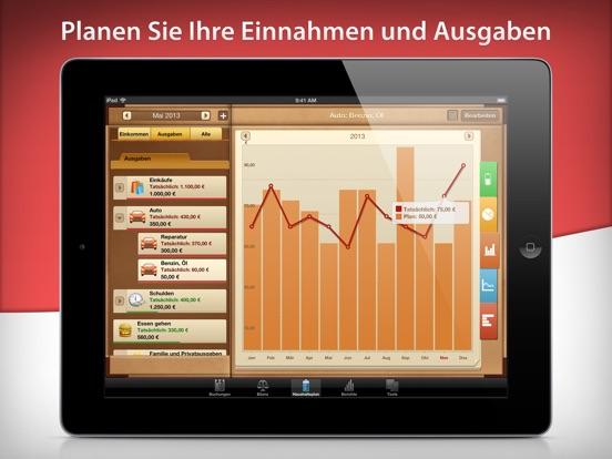 Mein Geld mit Money for iPad Screenshot