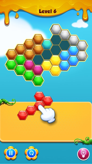 Hexagon Match screenshot four