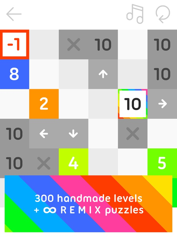 10 - a Puzzle Made of Numbers Screenshot