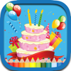Tortas de cumpleaños para colorear Juegos libro pa Wiki