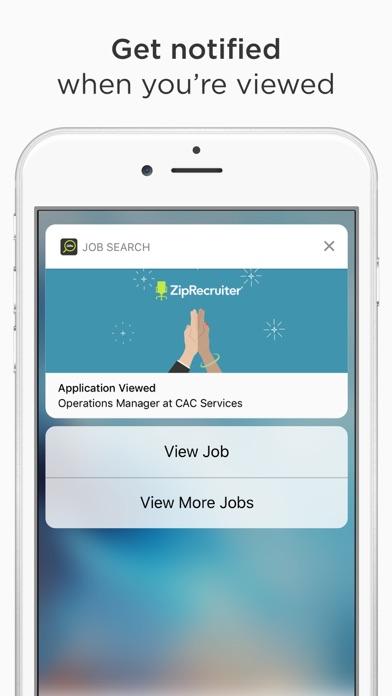 ziprecruiter job search on the app store