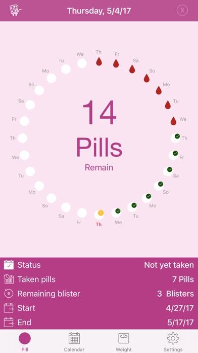 Screenshot #1 pour BC Pill Pro - Birth Control Pill