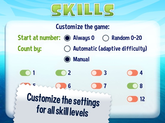 Jump Numbers Screenshots