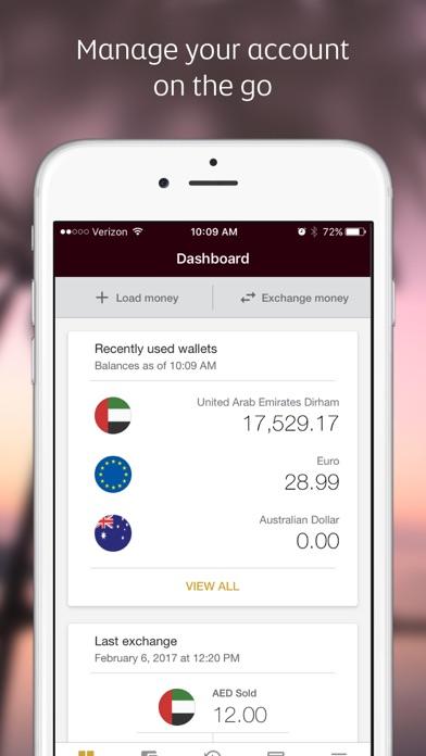 Etihad Guest walletplus™ app screenshot three