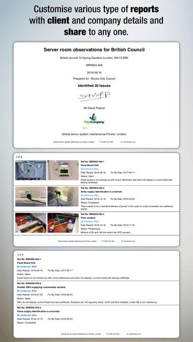 AuditBricks - Snagging & Auditing for Site works Screenshots
