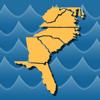 Stream Map USA - Southeast