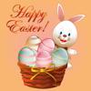 可爱小兔接彩蛋