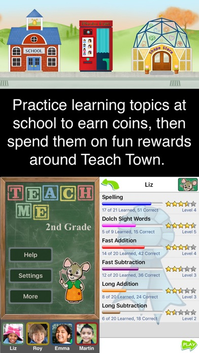 Itooch 2nd Grade Math Screenshot Thumbnail