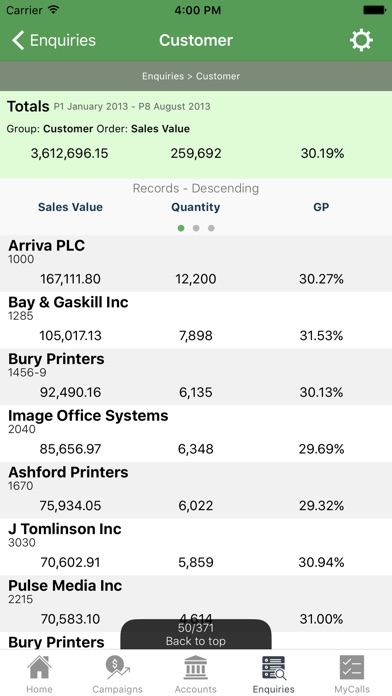 sales-i Скриншоты6