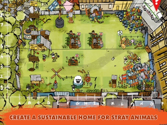 Sustainable Shaun на iPad