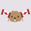 download Cleaver Beaver Animated Stickers