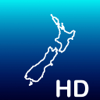 Aqua Map New Zealand HD - Offline Nautical Charts