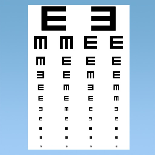 視力檢查:EyeTry